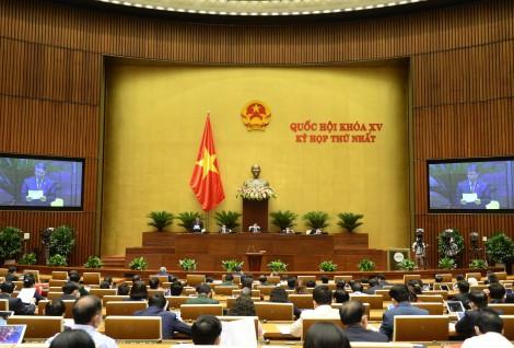 Thông cáo báo chí số 7 Kỳ họp thứ nhất, Quốc hội khóa XV