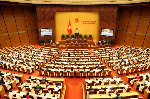 Ngày 26-7-2021, Quốc hội thảo luận, biểu quyết thông qua Nghị quyết bầu Chủ tịch nước và Thủ tướng Chính phủ