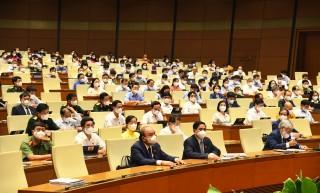 Thông cáo báo chí số 08, Kỳ họp thứ Nhất, Quốc hội khóa XIV