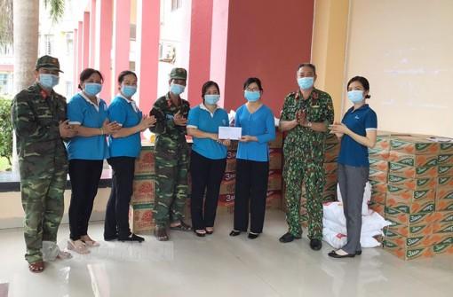 Hội Liên hiệp phụ nữ tỉnh vận động hỗ trợ các địa phương trong phòng chống dịch