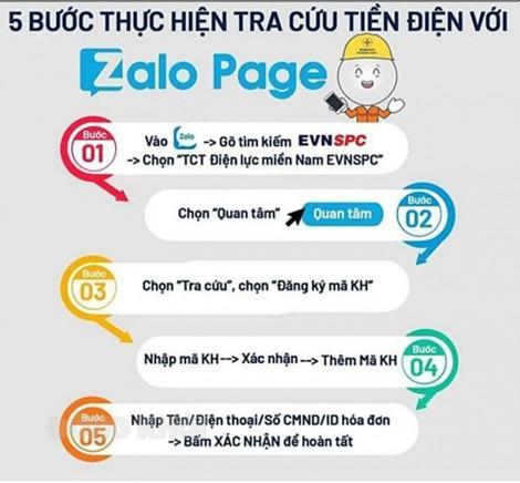 Điện lực Mỏ Cày Nam khuyến khích giao dịch điện tử