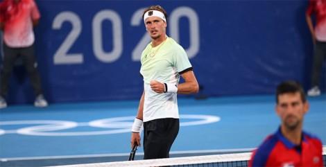 Zverev phá Golden Slam của Djokovic