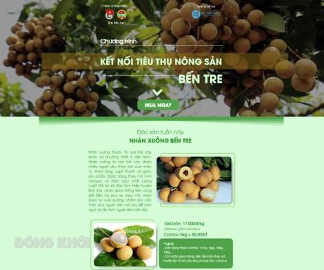Giới thiệu website đặt hàng nông sản mùa dịch