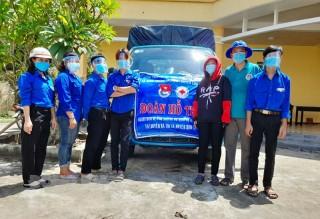 Áo xanh xứ Dừa tình nguyện phòng chống Covid-19