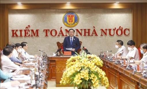 Chủ tịch Quốc hội Vương Đình Huệ: Kiểm toán là xây dựng để phát triển
