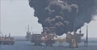 Nổ giàn khoan dầu ngoài khơi Vịnh Mexico