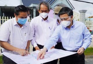 Bí thư Tỉnh ủy Lê Đức Thọ kiểm tra tiến độ Khu công nghiệp Phú Thuận