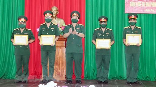 Lực lượng vũ trang tỉnh thi đua phòng chống dịch Covid-19