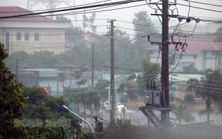 Cảnh báo mưa to diện rộng trên địa bàn tỉnh Bến Tre
