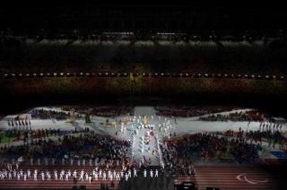 Lễ bế mạc giản dị chính thức khép lại Paralympic Tokyo 2020
