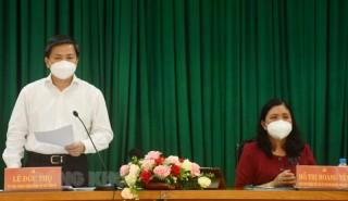Thường trực Tỉnh ủy làm việc với Ðảng đoàn MTTQ Việt Nam tỉnh và các tổ chức chính trị - xã hội