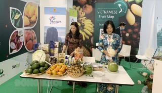 """Sản phẩm Bến Tre tham gia """"Hội chợ trái cây và rau quả quốc tế - Macfrut 2021"""""""