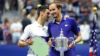 Đánh bại Djokovic, Medvedev vô địch US Open