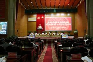 Khai mạc Hội nghị toàn quốc các cơ quan nội chính triển khai Nghị quyết Đại hội XIII của Đảng