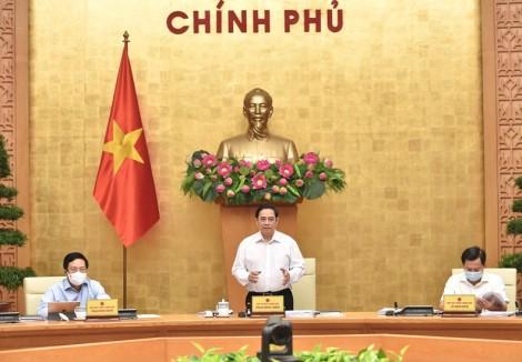 Nghị quyết phiên họp Chính phủ thường kỳ tháng 8-2021
