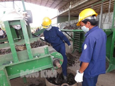 Xây dựng khu liên hợp xử lý chất thải rắn tập trung