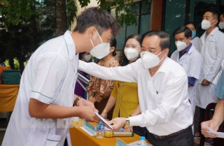 41 cán bộ y tế lên đường hỗ trợ TP. Hồ Chí Minh phòng, chống dịch