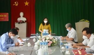 Đoàn kiểm tra 209 làm việc với Đảng ủy Khối Cơ quan - Doanh nghiệp tỉnh