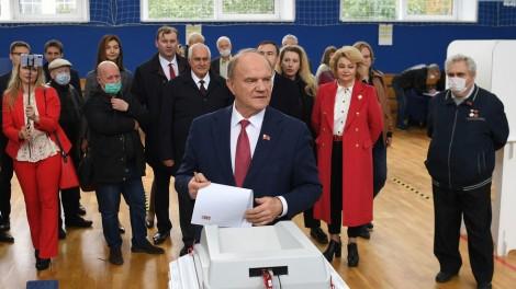 Đảng Cộng sản LB Nga giành kết quả ấn tượng trong cuộc bầu cử Duma Quốc gia năm 2021