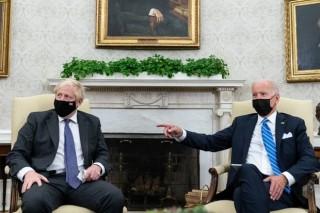 Lãnh đạo Mỹ và Anh đang thảo luận về Hiệp định Thương mại song phương