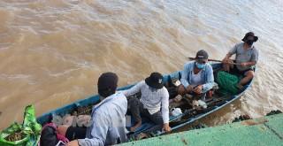 Phát hiện 4 người đi xuồng máy từ Tiền Giang qua Bến Tre