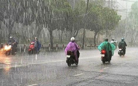 Cảnh báo đợt mưa lớn diện rộng do hoàn lưu vùng áp thấp