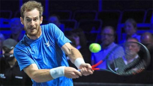 Andy Murray thắng ngược trận đầu Moselle Open 2021