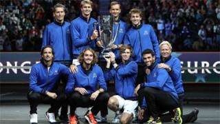 Andrey Rublev và Alexander Zverev giúp tuyển châu Âu vô địch Laver Cup 2021