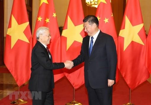 Lãnh đạo Đảng, Nhà nước Việt Nam gửi Điện mừng Quốc khánh Trung Quốc