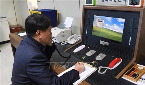 Triều Tiên nối lại đường dây nóng liên Triều