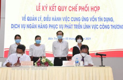 Ngân hàng Nhà nước Việt Nam Chi nhánh tỉnh và Sở Công Thương ký kết quy chế phối hợp
