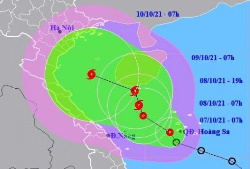 Áp thấp nhiệt đới trên Biển Đông và các chỉ đạo ứng phó
