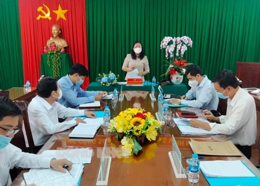 Thường trực Tỉnh ủy làm việc với Ban cán sự Đảng Tòa án nhân dân tỉnh