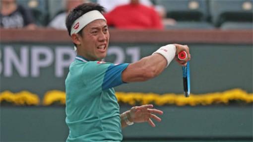 Kei Nishikori thắng ngược trận đầu Indian Wells 2021