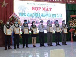 Châu Thành họp mặt doanh nghiệp nhân Ngày Doanh nhân Việt Nam