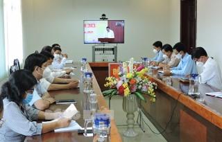 Ủy ban Trung ương MTTQ Việt Nam giao ban trực tuyến quý III-2021