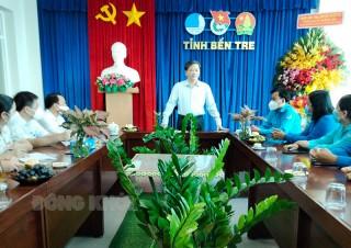 Thư chúc mừng của Ủy viên Trung ương Đảng - Bí thư Tỉnh ủy Lê Đức Thọ nhân kỷ niệm 65 năm Ngày thành lập Hội Liên hiệp Thanh niên Việt Nam 15-10-1956 - 15-10-2021