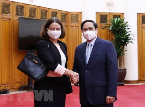 Thủ tướng Phạm Minh Chính tiếp Đại sứ Australia tại Việt Nam