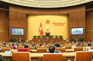 Thông cáo báo chí số 1 Kỳ họp thứ 2, Quốc hội khóa XV