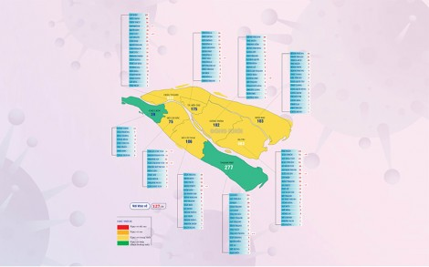 [Infographics] Thông tin dịch Covid-19 tỉnh Bến Tre, ngày 20-10-2021
