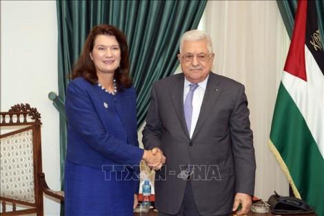 Tổng thống Palestine kêu gọi khởi động tiến trình chính trị do Nhóm Bộ tứ bảo trợ