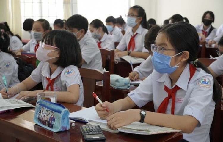 Các địa bàn được xác định dịch cấp độ 1, 2 có thể tổ chức dạy học trực tiếp
