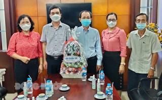 Đoàn đại biểu Quốc hội tỉnh thăm tập thể cán bộ, công chức, viên chức Công ty TNHH MTV Xổ số kiến thiết tỉnh