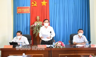 Đoàn kiểm tra 171 của Tỉnh ủy kiểm tra tại huyện Thạnh Phú