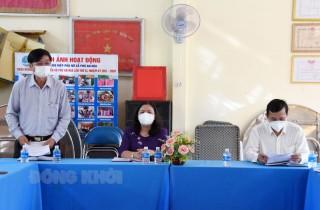 Phó bí thư Thường trực Tỉnh ủy khảo sát tình hình kinh tế tập thể tại huyện Châu Thành