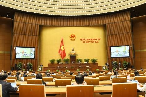 Thông cáo báo chí số 2 Kỳ họp thứ 2, Quốc hội khóa XV