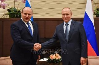 Tổng thống Nga đánh giá cao 'mối quan hệ tin cậy' với Israel