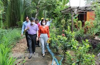 Bí thư Tỉnh ủy Lê Đức Thọ khảo sát tuyến du lịch vùng xanh xứ dừa trên địa bàn TP. Bến Tre