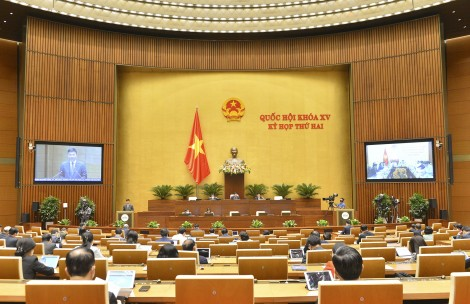 Thông cáo báo chí số 4 Kỳ họp thứ 2, Quốc hội khoá XV