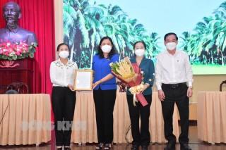 Đoàn đại biểu TP. Hồ Chí Minh đến thăm, động viên tỉnh Bến Tre trong công tác phòng, chống dịch